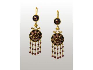 18 Karat Gold Drop Earrings